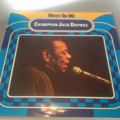 CHAMPION JACK DUPREE - MERCY ON ME(1979/TIME WIND REC/RFG) -Vinil/IMPECABIL/JAZZ - Muzica Jazz Altele
