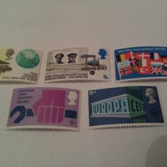 Anglia 1969 europa / serie mnh - Timbre straine, Nestampilat