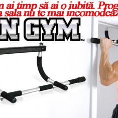 Iron Gym | Bara tractiuni, Pe usa