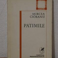 PATIMILE -MIRCEA CIOBANU - Carte poezie