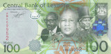 Bancnota Lesotho 100 Maloti 2010 - P24a UNC
