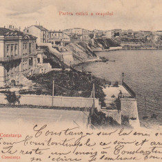SALUTARI DIN CONSTANTA , PARTEA ESTICA A ORASULUI ,CLASICA ,CIRCULATA  IAN. 1904, Printata