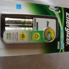 ENERGIZER MINI CHARGER + 2 X AA NiMH BATT CH2PC3