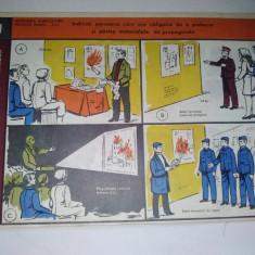 Chestionar protectia muncii - (VII ) - prevenirea incendiilor - anii '80