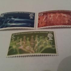 Anglia 1970 commonwealth / serie mnh - Timbre straine, Nestampilat