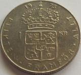 Moneda 1 Coroana - SUEDIA, anul 1973 *cod 2935, Europa