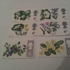 Anglia 1967 flora bloc+++ / mnh - Timbre straine, Nestampilat