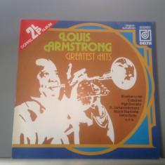 LOUIS ARMSTRONG - GREATEST HITS 2LP SET(1984/DELTA /RFG) - Vinil/IMPECABIL/JAZZ - Muzica Jazz Altele