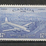 Canada.1946 Posta aeriana MC.409, Nestampilat