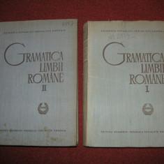 Gramatica limbii romane - Academia Romana (vol.1 si vol. 2) - Carte Cultura generala