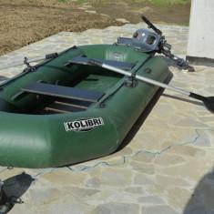 Barcă pneumatică KOLIBRI 280 cu motor Yamaha 2, 5 CP - Barca pneumatice