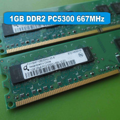 Memorie RAM PC DDR2 1GB PC5300 667MHz Qimonda