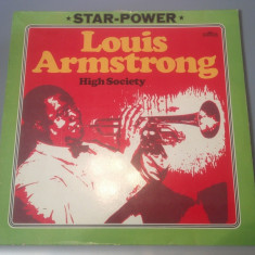 LOUIS ARMSTRONG - HIGH SOCIETY (1975/INTERCORD REC /RFG) - Vinil/IMPECABIL/JAZZ - Muzica Jazz universal records