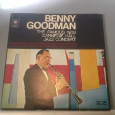 BENNY GOODMAN - CARNAGIE HALL - 2LP(1976/CBS REC/HOLLAND) - Vinil/IMPECABIL/JAZZ - Muzica Jazz Columbia