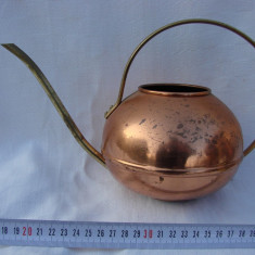Ceainic portughez din cupru marca TAGUS - Metal/Fonta, Vase