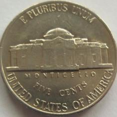 Moneda 5 Centi - SUA, anul 1992 *cod 1493 a.UNC, America de Nord