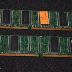 Memorie RAM desktop Kingston 512MB (Kit 2x256MB) DDR400 PC3200 - poza reala, 400 mhz, Dual channel