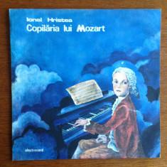 Ionel Hristea - vinil- Copilaria lui Mozart - Muzica soundtrack electrecord
