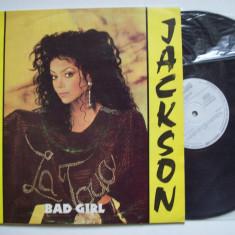 Disc vinil LA TOYA JACKSON - Bad girl (ST - ELE 04131)