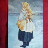 Ilustrata Port Popular Slovac - Femeie- Pictura anii '20, Necirculata, Printata