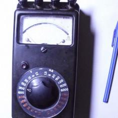 Aparat masura vechi de colectie anii 50 multimetru german functional