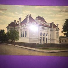 Botosani - Palatul Justitiei - Carte Postala Moldova 1904-1918, Circulata, Fotografie