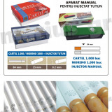 SET MIX - 1000 tuburi de tigari Cartel, 1000 Moreno + INJECTOR TUTUN - Foite tigari