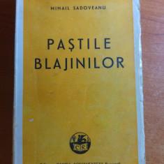 pastile blajinilor de mihail sadoveanu 1944-flancata cu 4 timbre