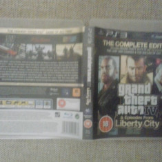 Grand Theft Auto IV + Episodes form Liberty City - GTA 4 - PS3 - Jocuri PS3, Actiune, 16+, Single player
