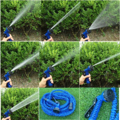 Furtun extensibil + pistol stropit Magic Hose 45 metri - Furtun gradina