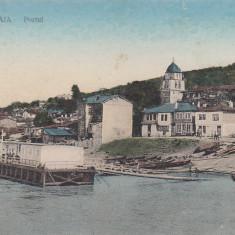TURTUCAIA, PORTUL, CIRCULATA 9/1917 - Carte Postala Dobrogea pana la 1904, Printata