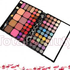 Trusa machiaj profesionala 72 culori multifunctionala 06