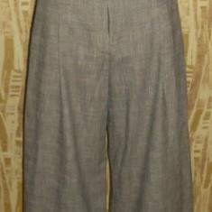 Fusta pantalon, pantaloni trei sferturi H/M, aproximativ marimea 42, - Pantaloni dama H&m, Maro
