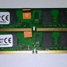 4 GB DDr2 800 Kingston Dual channel 2*2GB 800Mhz KVR800D2N6/2G Noi