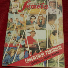 Revista Femeia - anul XXVII nr 11 noiembrie 1974 / 24 pagini !!!