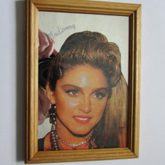 MADONNA-Tablou-oglinda-vintage
