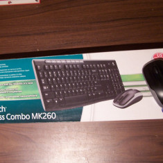 Kit Tastatura + mouse Logitech MK260 Wireless, Fara fir