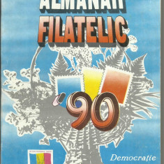 ALMANAHUL FILATELIC 1990 - Carte traditii populare