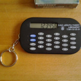 Mini calculator de buzunar