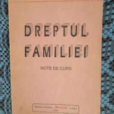 Gabriela LUPSAN - DREPTUL FAMILIEI. NOTE DE CURS (IASI, 1994) - Carte Dreptul familiei