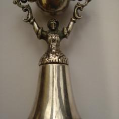 Statueta alama argintata - Arta din Metal