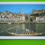 HOPCT 22266 PORTUGALIA PORTO-PORTUL SI RIUL DOURO [NECIRCULATA], Printata
