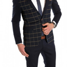 Sacou tip Zara Man CAROURI - sacou barbati - sacou casual elegant- cod 6070, Marime: 50, Culoare: Din imagine