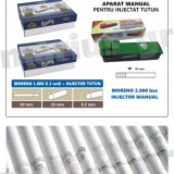 SET - Moreno 2000 tuburi de tigari cu filtru alb + INJECTOR TUTUN manual - Foite tigari