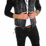 Geaca de blugi tip ZARA - geaca slim fit - geaca fashion LICHIDARE DE STOC 6084