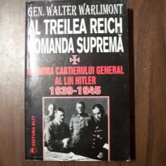 Al Treilea Reich. Comanda suprema - Gen. Walter Warlimont - Istorie