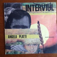 Angela Platti - vinil- Interviul - Muzica soundtrack electrecord
