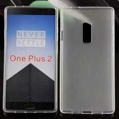 Husa OnePlus 2 TPU Mata Alba - Husa Telefon OnePlus, Gel TPU, Fara snur, Carcasa