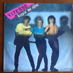 Vitesse - vinil - Keepin'g me alive - Muzica soundtrack electrecord