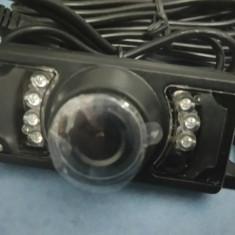 Mini camera video color 12v auto spate noua marsarier cu infarosu noapte